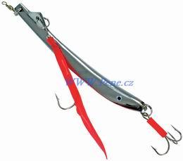 Rybářský pilker Mak nikl 100g ICe fish pilkr - zvětšit obrázek