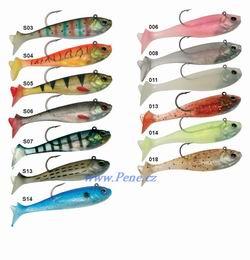 Rybáøská vláèecí ryba s háèkem ICE fish 10cm - 18g