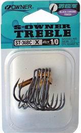 Rybářský trojháček Owner ST-36BC - zvětšit obrázek