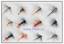 Rybáøská sada mušek Fly 12ks JSA fish