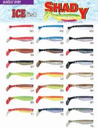 Rybářská sada vláčecích ryb Shady riper 10 cm 240ks - zvětšit obrázek