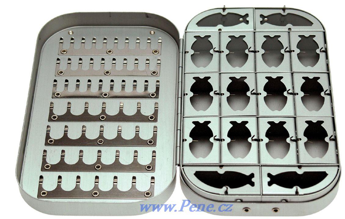 Krabièka na mušky Alu typ 1 muškaøská JSA fish - zvìtšit obrázek