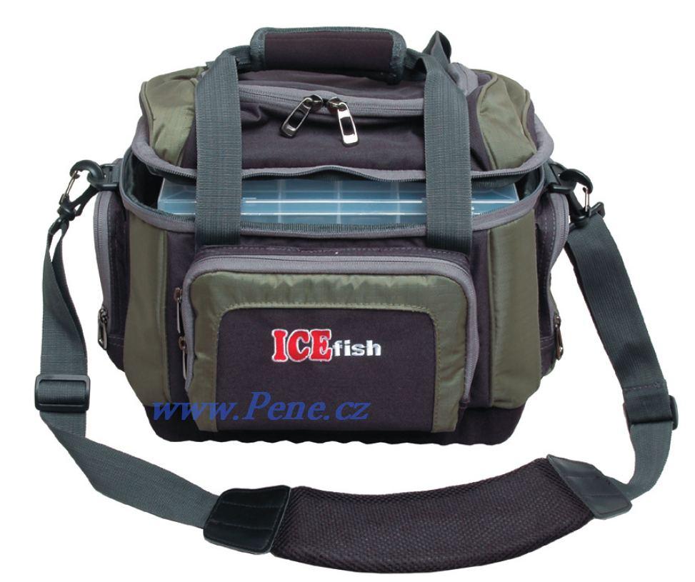Taška s boxy III, krabièkami ICE fish pøívlaèová taška - zvìtšit obrázek