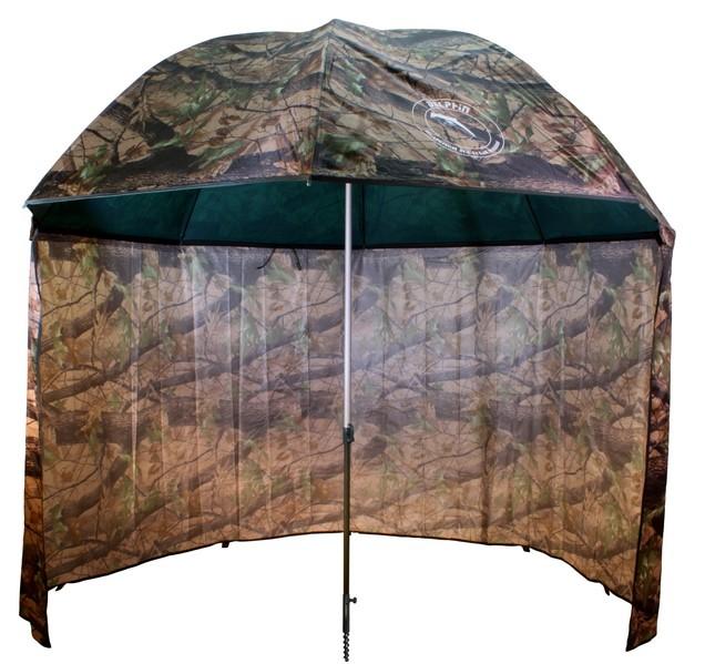 Deštník s boènicí 2,5 m Camo PVC Moss Delphin - zvìtšit obrázek