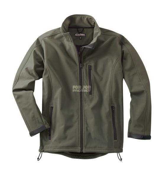 Rybáøská Softshelová bunda zelená s elastanem - zvìtšit obrázek