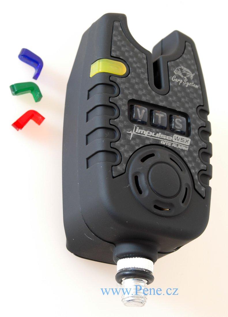 Hlásiè Impulse WS s vysílaèem Carp system signalizátor - zvìtšit obrázek