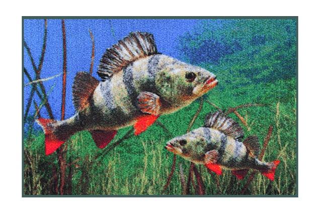 Rohožka Delphin 3D Okoun 60x40 cm - zvìtšit obrázek
