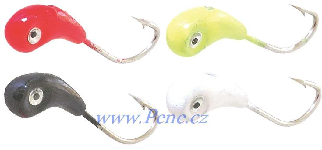 Set 12ks Marmyška Dolph ICE fish 1g barvená - zvìtšit obrázek