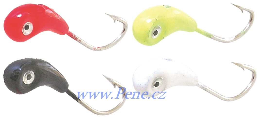 Set 12ks Marmyška Dolph ICE fish 4g barvená - zvìtšit obrázek