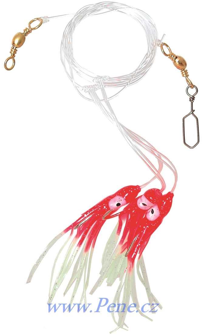 Návazec na moøe Chobotnice RF 8cm ICE fish - zvìtšit obrázek