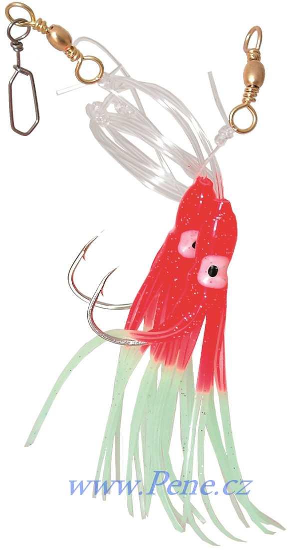 Návazec na moøe Chobotnice RF 12cm ICE fish - zvìtšit obrázek