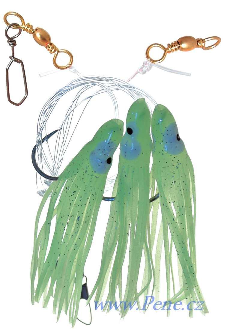 Návazec na moøe Chobotnice F 8cm ICE fish - zvìtšit obrázek