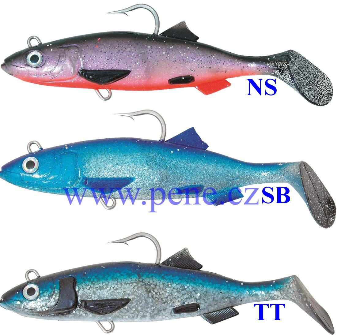 ICE fish nástraha ryba SILT Sleï 20cm 295g - zvìtšit obrázek