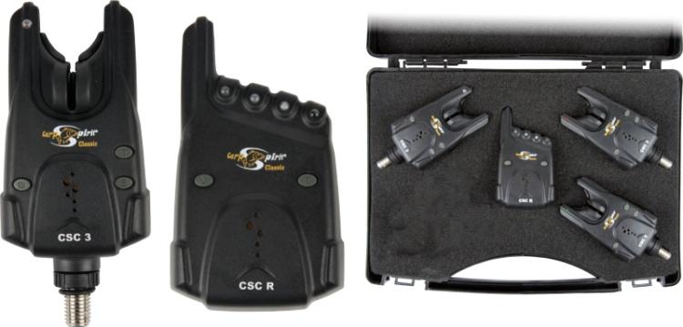 Sada signalizátorù Carp Spirit 3x CSC 3 a 1x CSC R sada 3+1 - zvìtšit obrázek