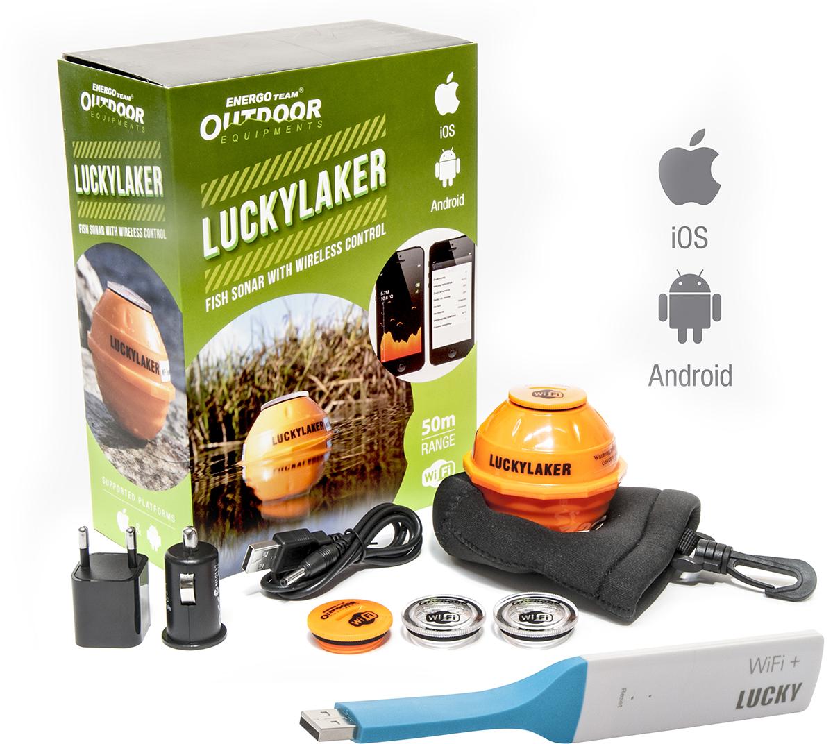 Energofish Outdoor Smart sonar Lucky Laker echolot android - zvìtšit obrázek