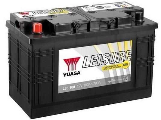 Trakèní baterie GS-YUASA Leisure 100Ah, 12V, 700A, baterie pro volný èas - zvìtšit obrázek