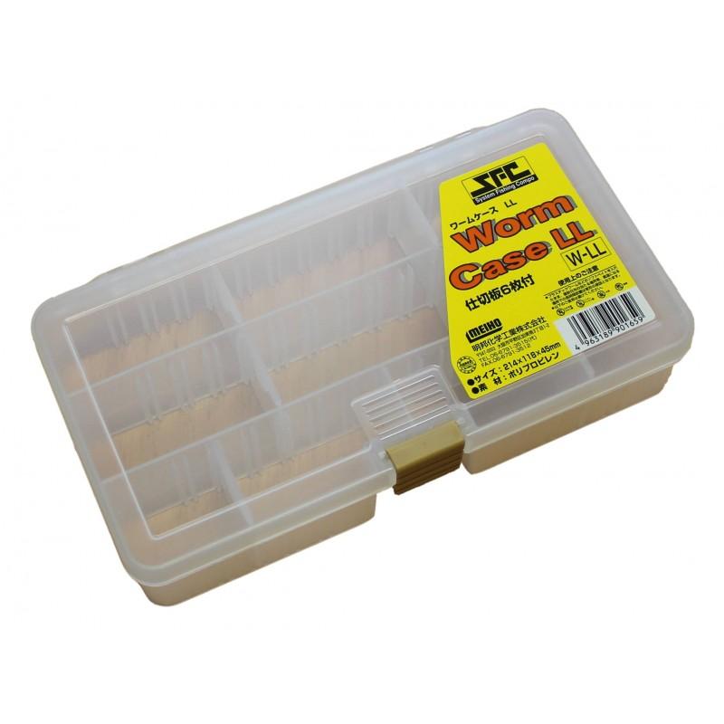 Box Meiho Worm , krabièka Made in Japan - zvìtšit obrázek