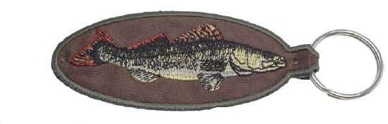 Rybáøská klíèenka s rybou 80mm - zvìtšit obrázek