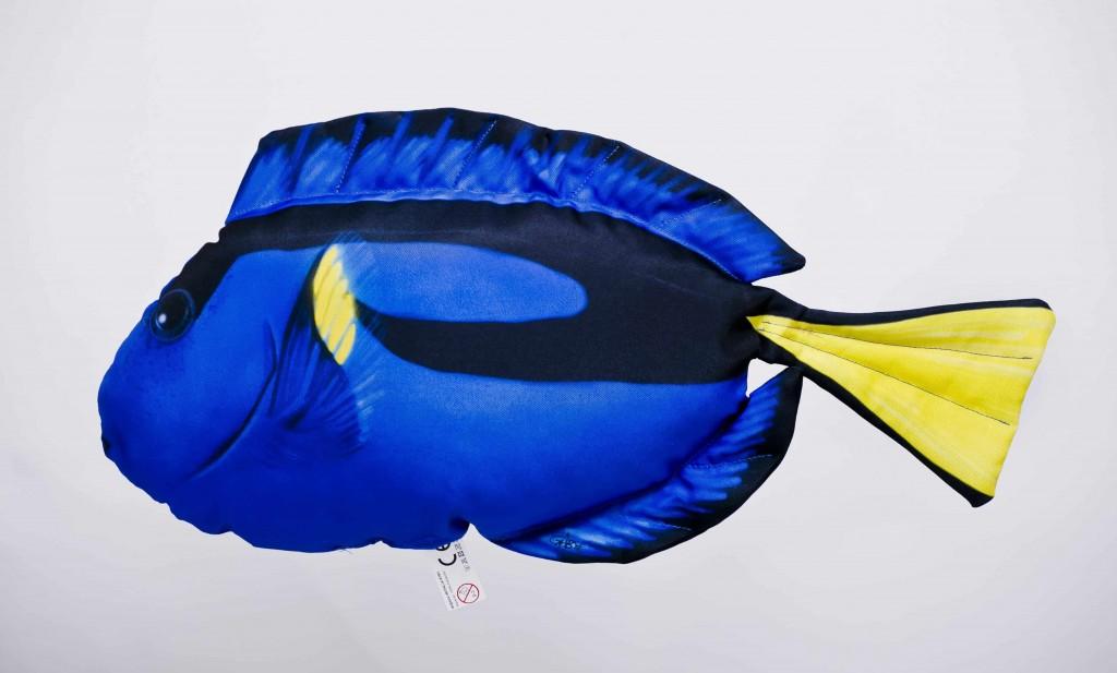 Plyšový polštáø Dory - Bodlok pestrý 32cm - Hledá se Nemo - zvìtšit obrázek