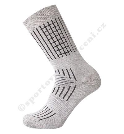 Rybáøské Zimní ponožky s protiskluzovým streèem Nupce - zvìtšit obrázek