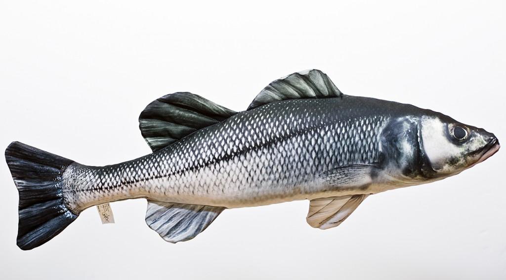 Sea Bass (Moøský vlk) - 70 cm polštáø - zvìtšit obrázek