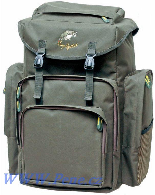 Rybáøský batoh C.S. zelený 120 L Carp system - zvìtšit obrázek