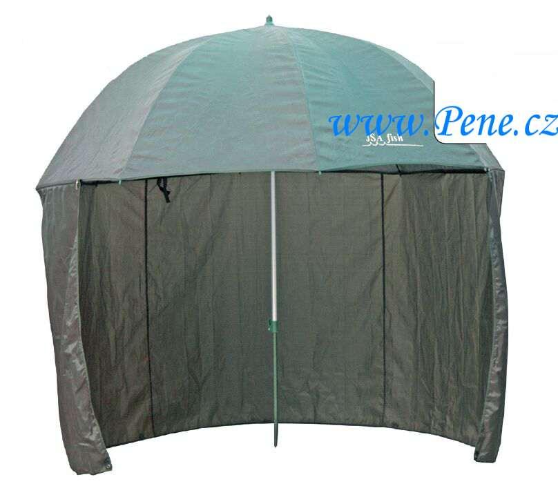 Deštník s odepínací boènicí zelený 250 cm 2,5 m - zvìtšit obrázek