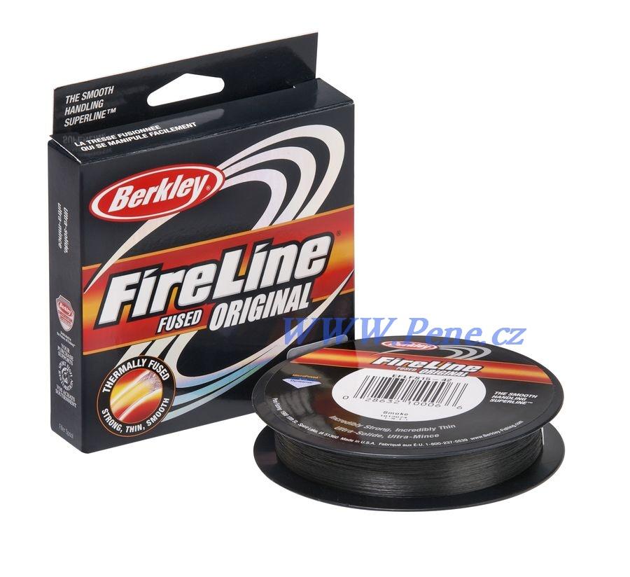 Šòùra Fireline šedá 0,17mm - 10,2kg  AKCE!! Berkley - zvìtšit obrázek