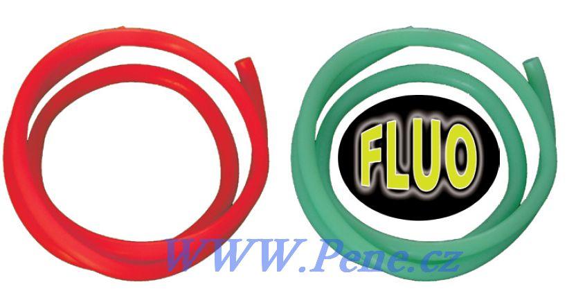 Fluo, èervená trubièka 50cm ICE fish - zvìtšit obrázek
