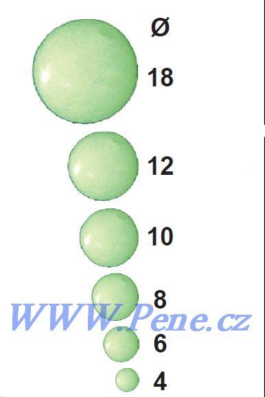 Fluo korálek ICE fish - zvìtšit obrázek