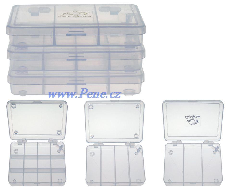 Rybáøská  plastová krabièka set 3 ks stohovatelná - zvìtšit obrázek