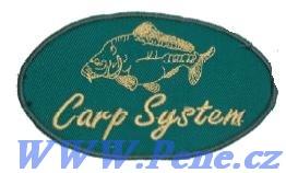 Rybáøská nášivka Carp system - zvìtšit obrázek