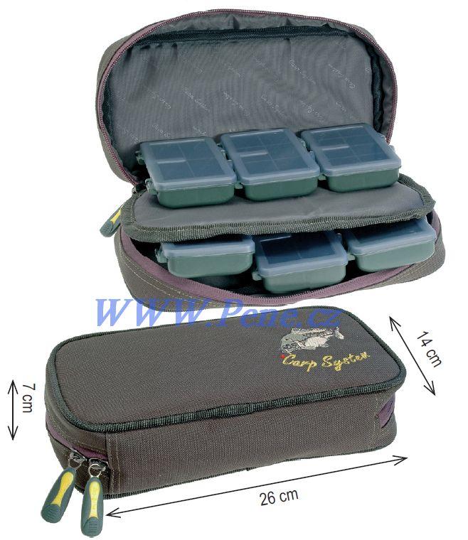 Rybáøský obal na krabièky Mini box C.S Carp system - zvìtšit obrázek