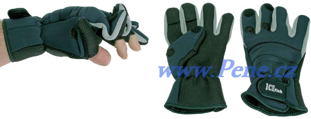 Rybáøské neoprenové rukavice ICE fish Lux - zvìtšit obrázek