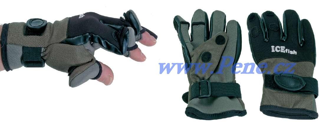 Rybáøské neoprenové rukavice ICE fish - zvìtšit obrázek