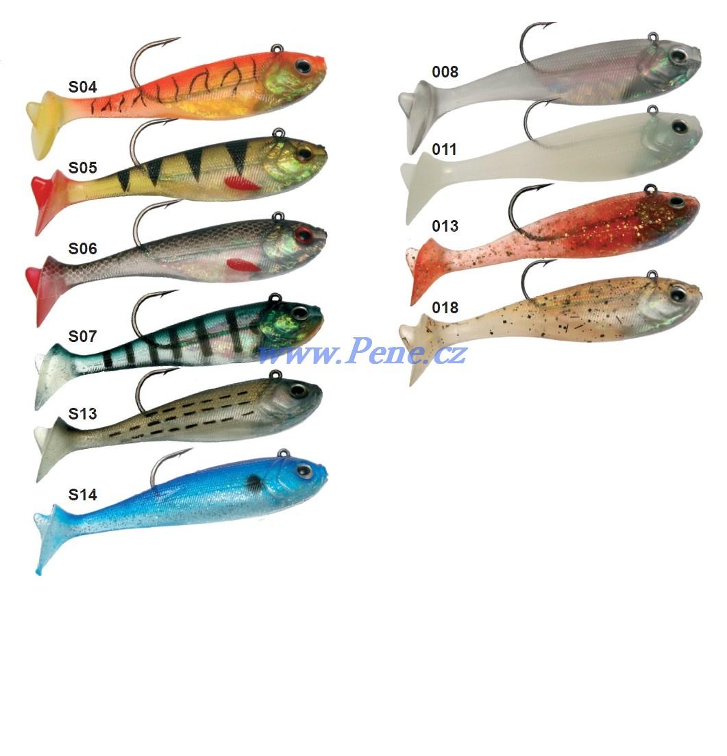 Rybáøská vláèecí ryba s háèkem ICE fish 12cm - 28g - zvìtšit obrázek