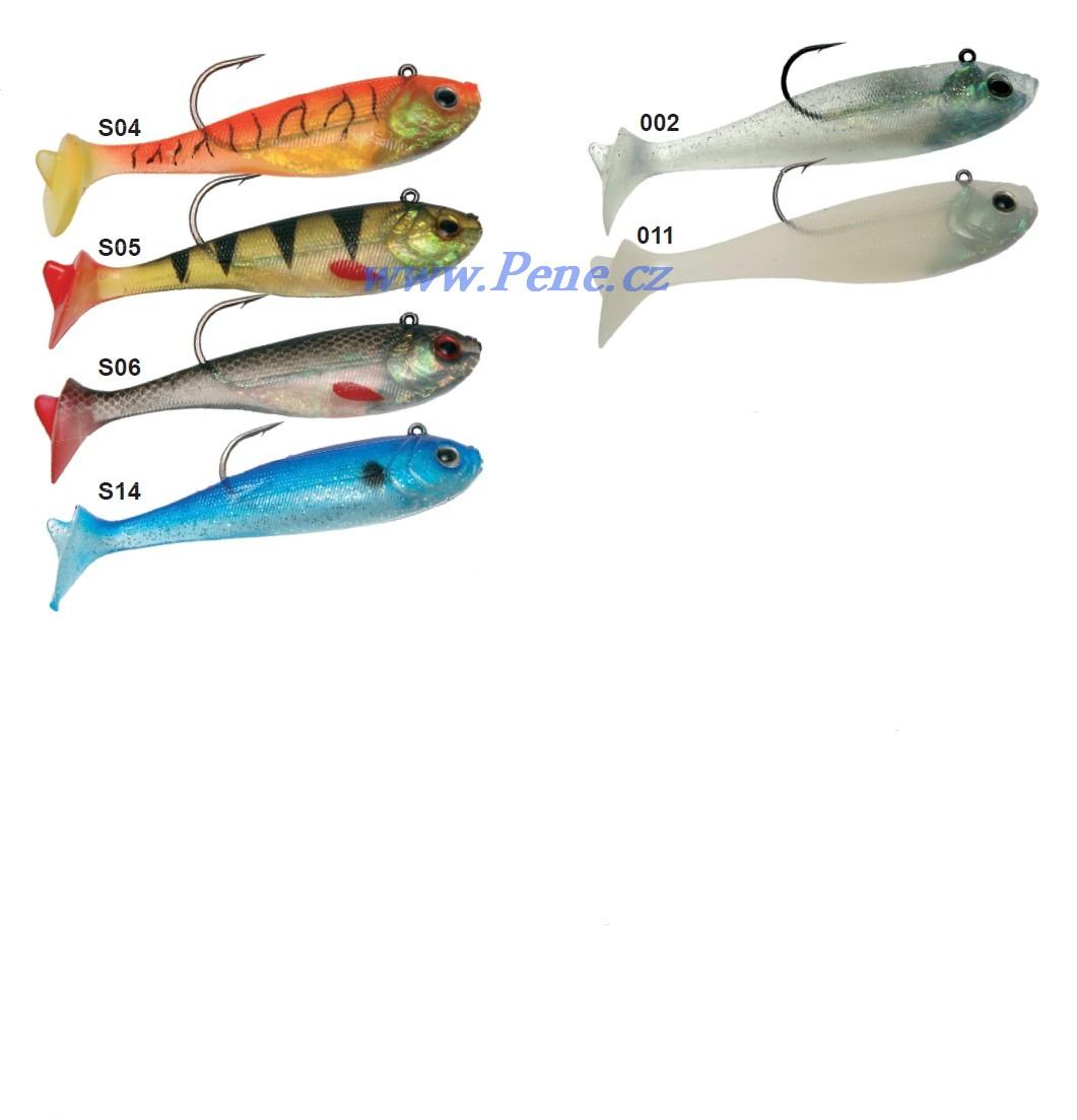 Rybáøská vláèecí ryba s háèkem ICE fish 15cm - 60g - zvìtšit obrázek