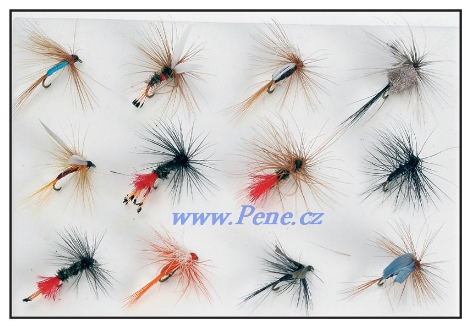 Rybáøská sada mušek Fly 12ks JSA fish - zvìtšit obrázek