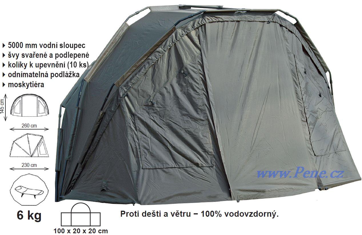 Rybáøský pøístøešek Shelter II Carp system bivak C.S + zdarma dopr - zvìtšit obrázek