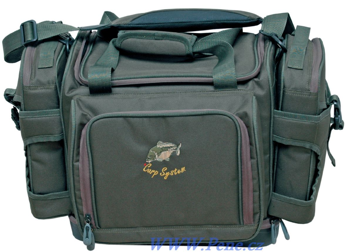 Rybáøská taška C.S. Lux Carp system + boèní pouzdra - zvìtšit obrázek