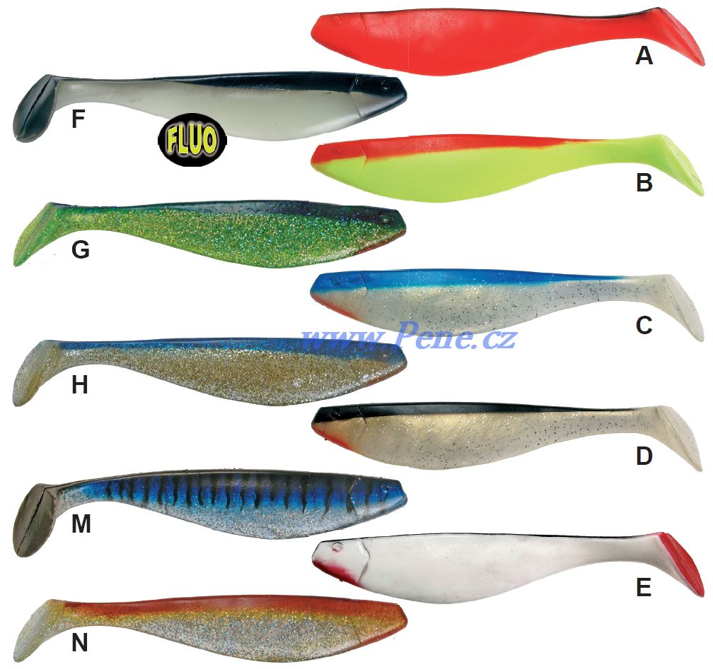 Rybáøská vláèecí ryba Monster Shad 32cm riper - zvìtšit obrázek