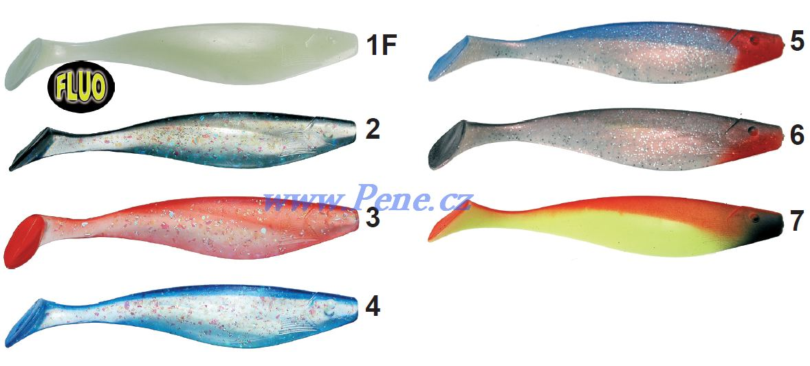 Rybáøská vláèecí ryba 15cm riper  - zvìtšit obrázek