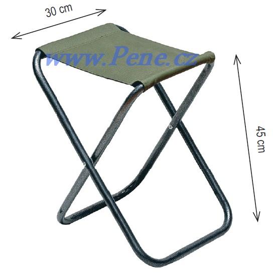 Rybáøská židlièka X zelená - zvìtšit obrázek