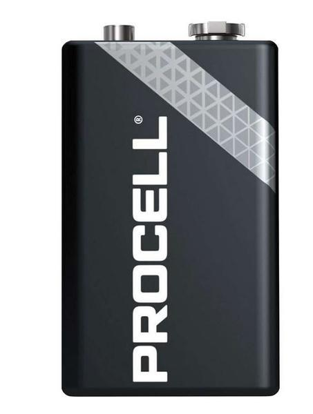 Baterie Duracell Procell Alkaline Industrial MN1604, 6LR61, 9V - zvìtšit obrázek