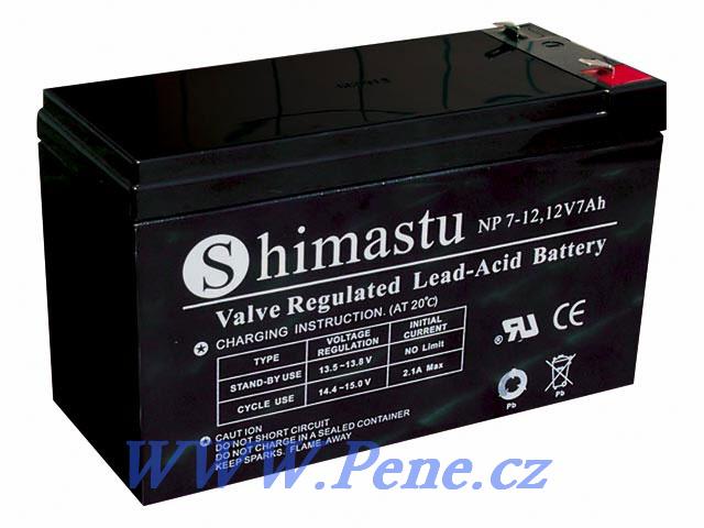 Akumulátor k echolotu ( sonaru ) 12V/7Ah - zvìtšit obrázek