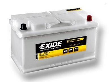 Trakèní baterie EXIDE EQUIPMENT 12V, 100Ah ET 650 - zvìtšit obrázek